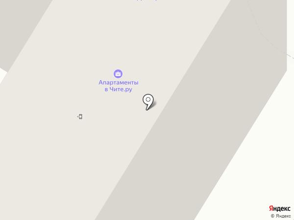 Архитектурно-проектная мастерская на карте Читы