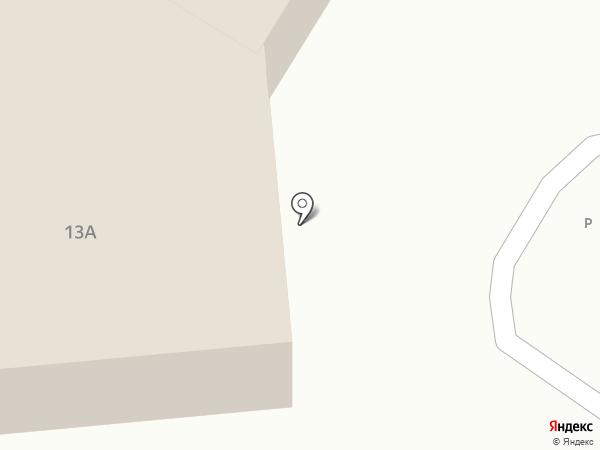Якорь на карте Читы