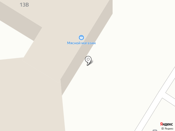 Мясной двор на карте Читы