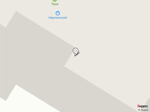 Дорожный центр внедрения, ЗАО на карте Читы