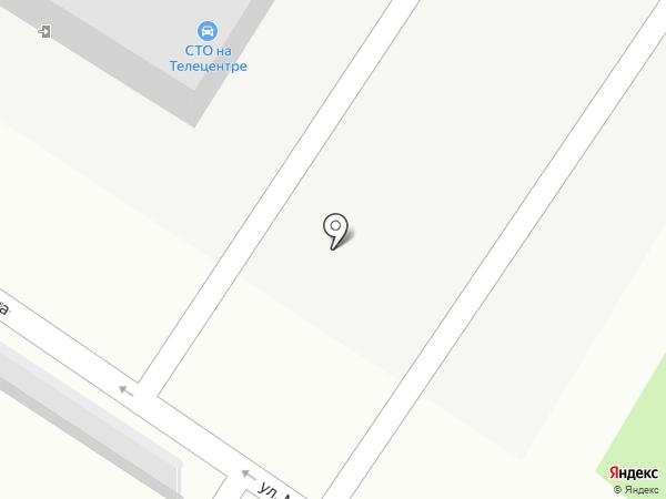 На телецентре на карте Читы