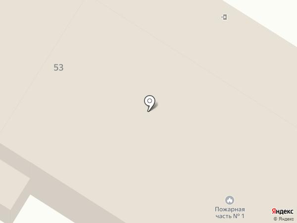Пожарная часть №1 Центрального района на карте Читы