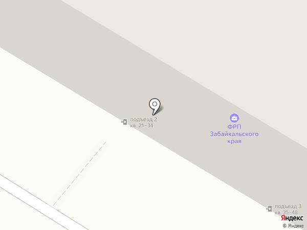 Магазин разливного пива на карте Читы