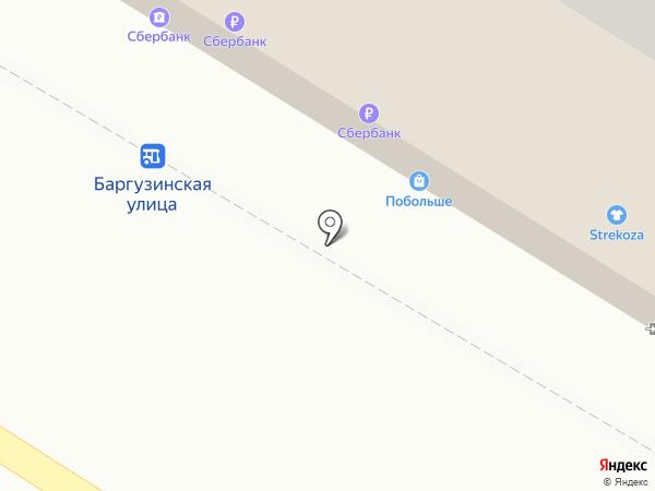 Т-Плат на карте Читы