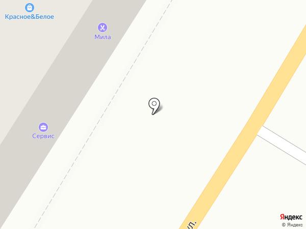 Мила на карте Читы