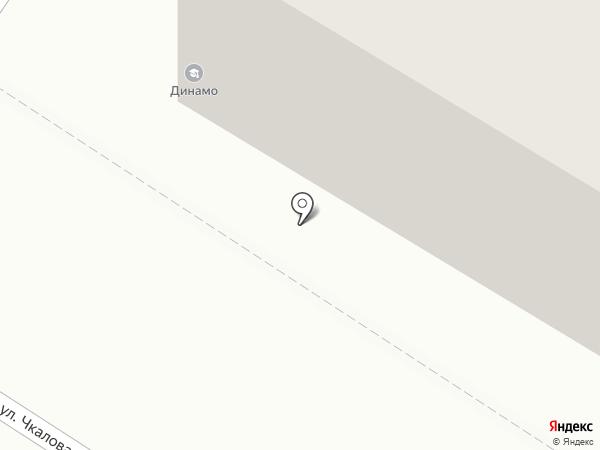 Динамо на карте Читы