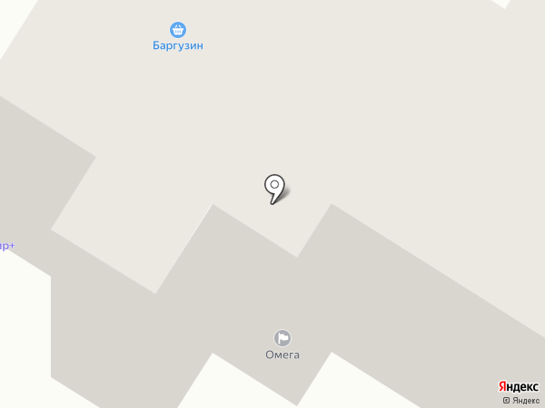 Магазин бытовой химии и косметики на карте Читы