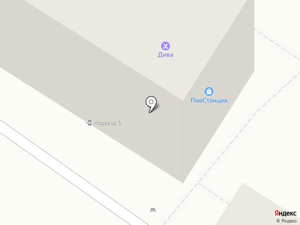 Дива на карте Читы