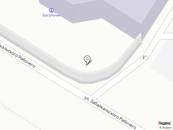 Клуб стрельбы из лука на карте Читы