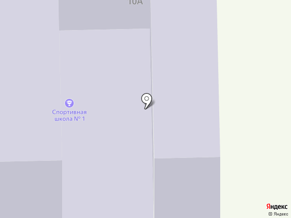 СДЮСШОР по фигурному катанию на карте Читы