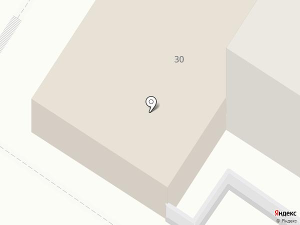 Народный на карте Читы