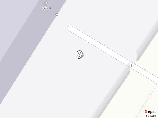 Забайкальский горный колледж им. М.И. Агошкова на карте Читы