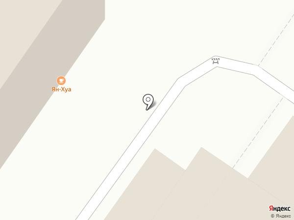 Ян-Хуа на карте Читы