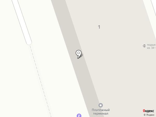Парикмахерская эконом-класса на карте Читы