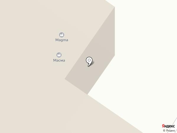 МАСМА на карте Читы