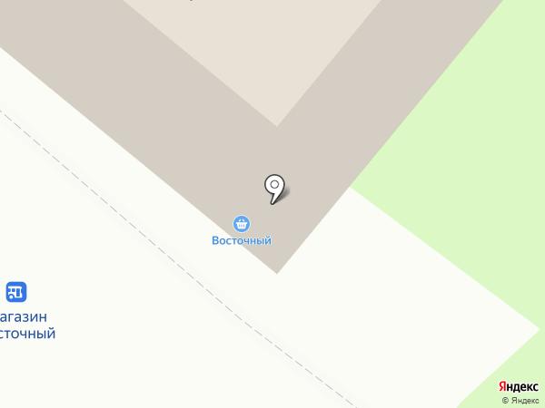 Восточный на карте Читы