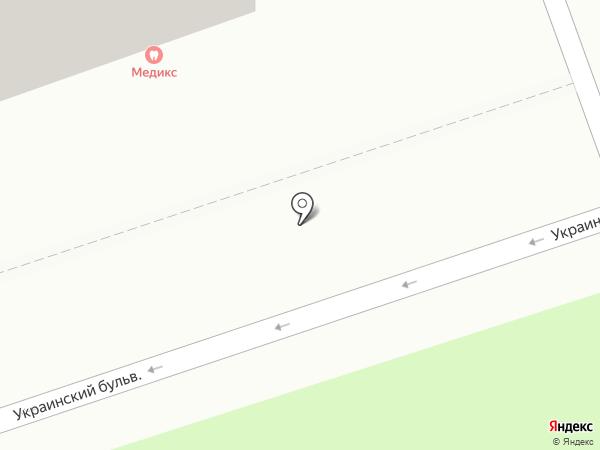 Клиника Медикс на карте Читы