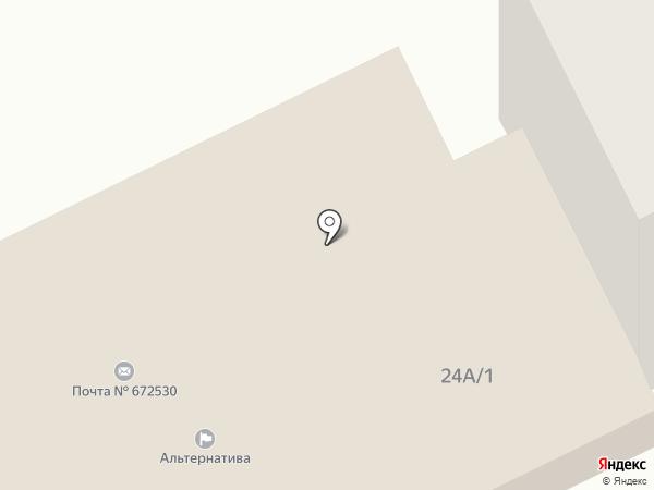 Почтовое отделение №672530 на карте Атамановки