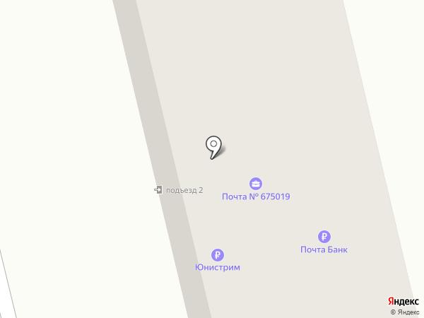 Почтовое отделение №19 на карте Аэропорта