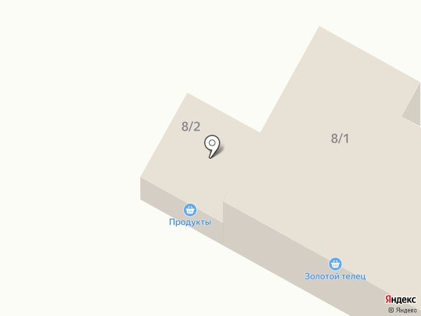 Золотой телец на карте Чигирей