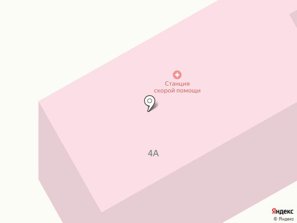 Скорая медицинская помощь на карте Чигирей