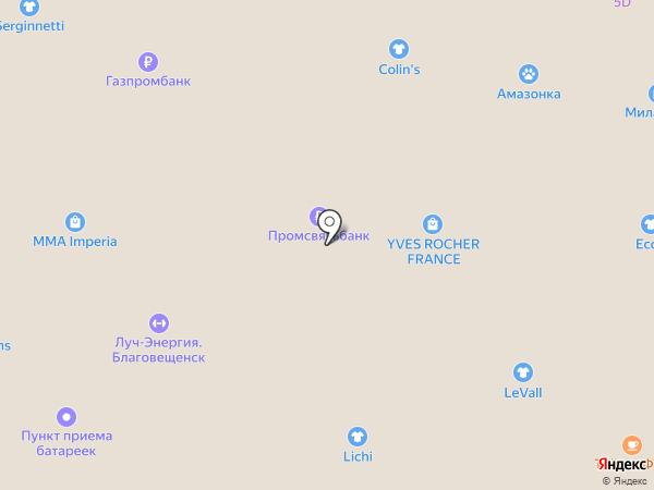 Студия аквагрима Юлии Кругловой на карте Благовещенска