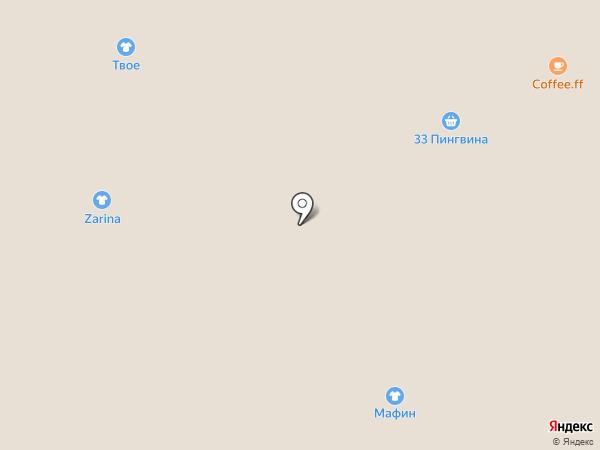 Стильные штучки на карте Благовещенска