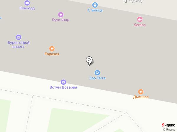 ДВ Центр на карте Благовещенска