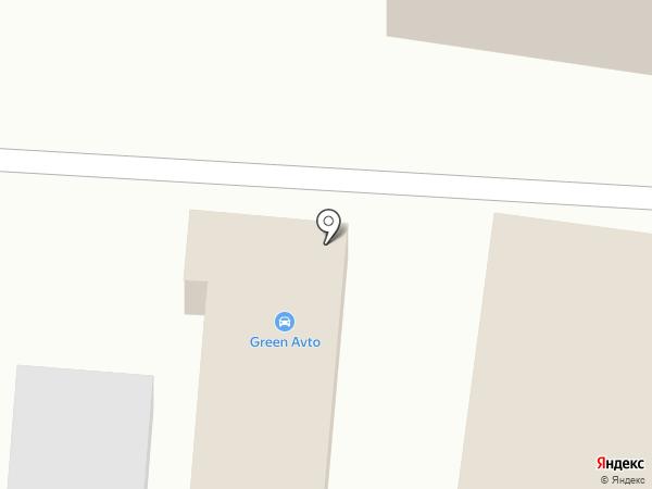 GREEN AVTO на карте Благовещенска