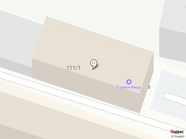 Абсолют на карте Благовещенска