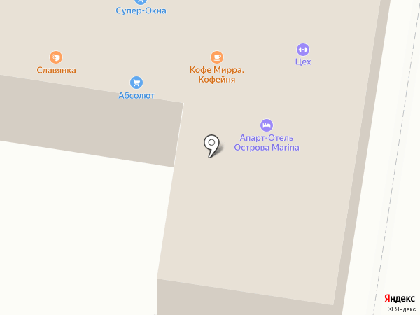 АТК Супер-ОКНА на карте Благовещенска