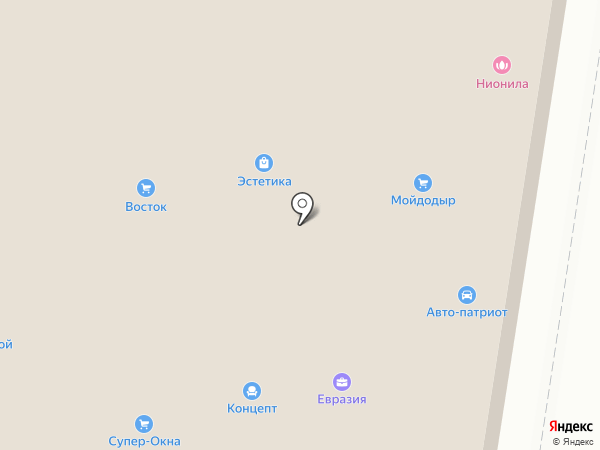 Авто-Патриот на карте Благовещенска