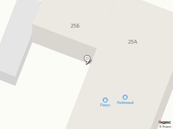 Парус на карте Чигирей