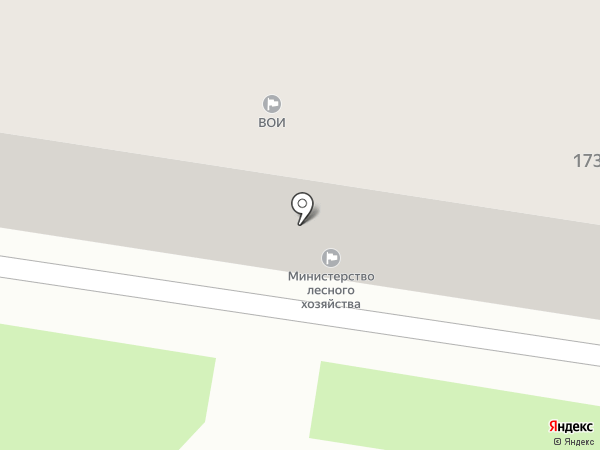 Фонд имущества Амурской области, ГБУ на карте Благовещенска