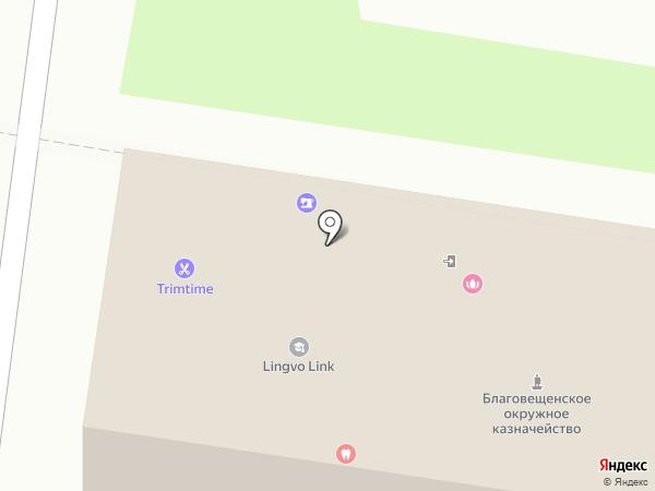 Юмейхо на карте Благовещенска