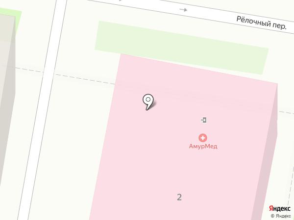 Викинг на карте Благовещенска