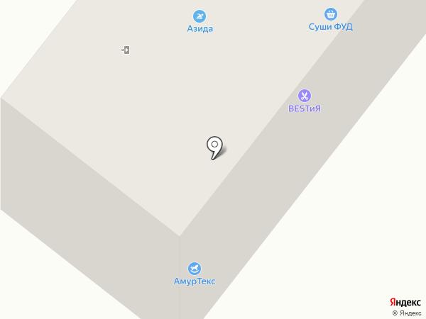 Лор-кабинет на карте Благовещенска