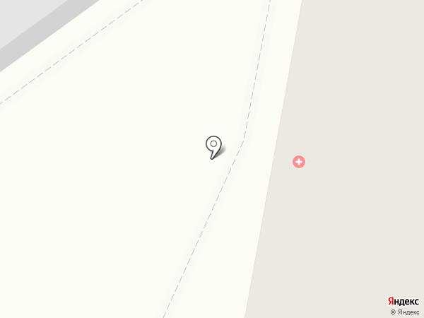 Детская поликлиника №1 на карте Благовещенска