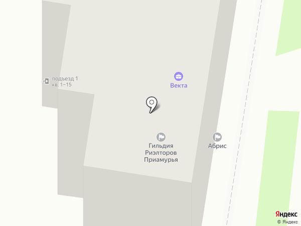Злочевский на карте Благовещенска