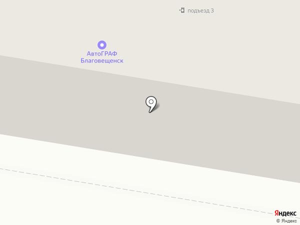 Автоденьги на карте Благовещенска