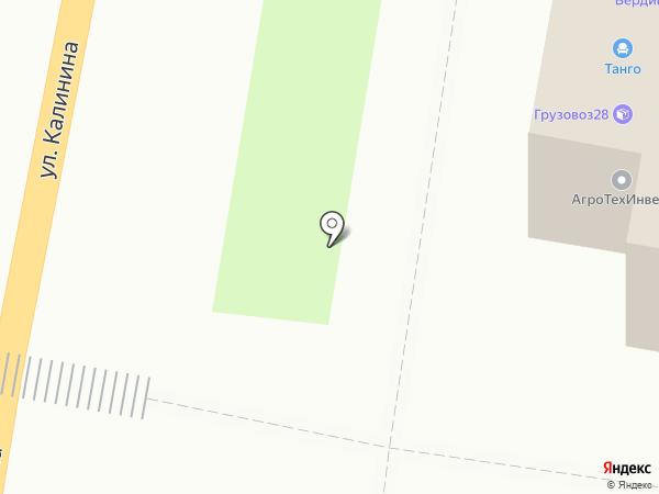 Комп-Мастер на карте Благовещенска