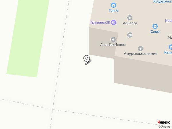 ФПК-Сервис на карте Благовещенска