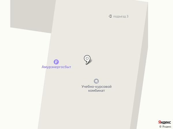 Ульяна на карте Благовещенска