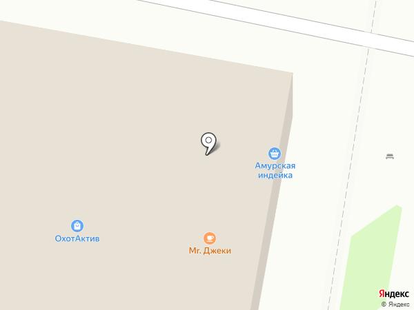 Фермерский дом на карте Благовещенска