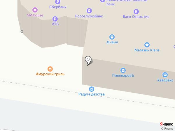 Билайн на карте Благовещенска
