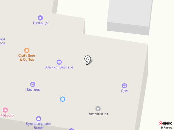 Амурспиннинг на карте Благовещенска