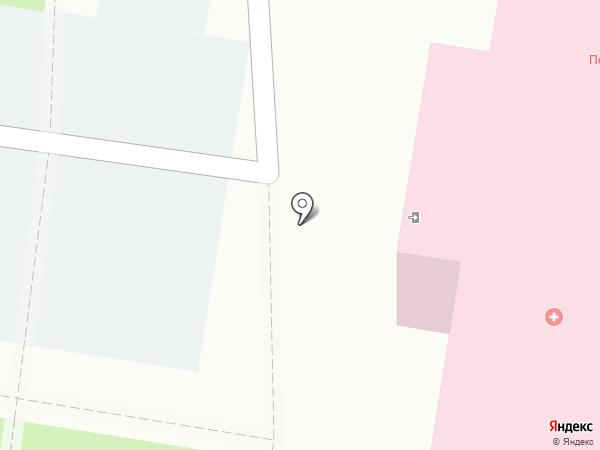 Городская поликлиника №4 на карте Благовещенска