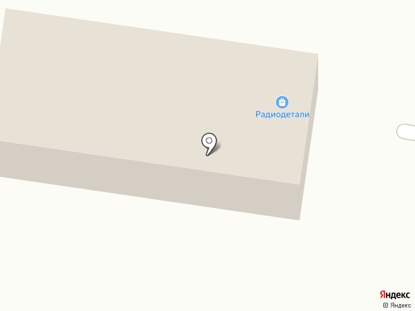 Магазин радиотелефонов и радиодеталей на карте Благовещенска
