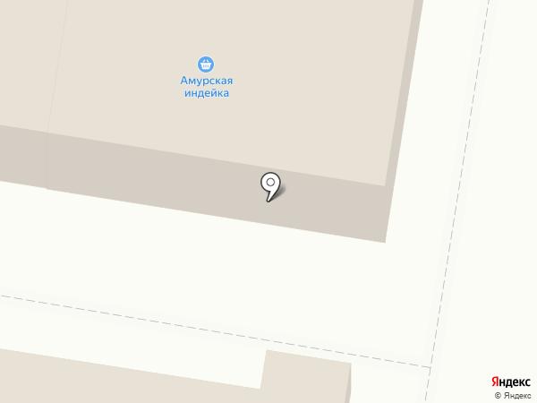 Замок-Сервис на карте Благовещенска