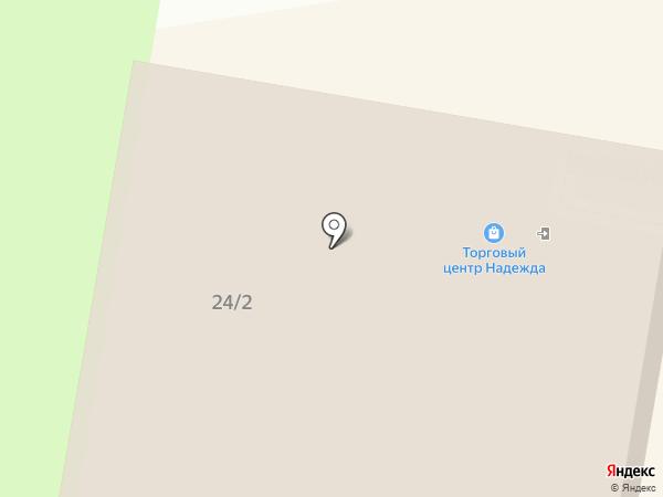 Анкор на карте Благовещенска